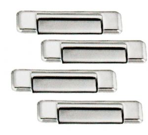 CAR CHROME OUTER HANDLE/CATCH COVERS FOR MAHINDRA SCORPIO TYPE IV (SET OF 4PCS)