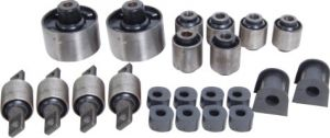 REAR SUSPENSION BUSHING KIT FOR MITSUBISHI LANCER (SET OF 16)