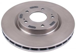 BRAKE DISC ROTOR FOR HYUNDAI VERNA FLUIDIC VENTILATION  (SET OF 2PC)