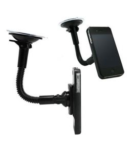 FLY Flexible Mobile GPS iphone ipod Holder Mount Cradle for Car Windshield and AC vents