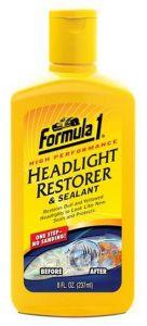 FORMULA 1 HEADLIGHT RESTORER (237ML)