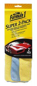 FORMULA 1 SUPER MICROFIBER CLOTH (PACK OF 2)