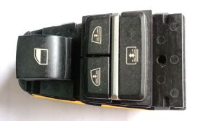 POWER WINDOW SWITCH FOR MERCEDES FULLY LOADED REAR LEFT - REFURNISHED