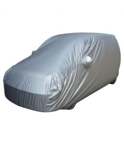 SILVER CAR BODY COVER FOR MARUTI CELERIO
